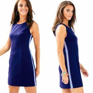 Lilly Pulitzer Mila Navy Blue Sheath Dress - XXS